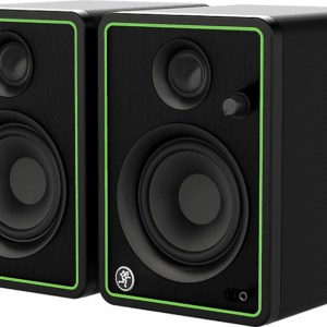 """Mackie CR4-XBT 4"""" Powered Studio Monitors with Bluetooth (Pair)"""